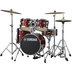 Yamaha Junior Kit Manu Katché Cranberry Red « Batería