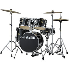 Yamaha Junior Kit Manu Katché Raven Black « Batería