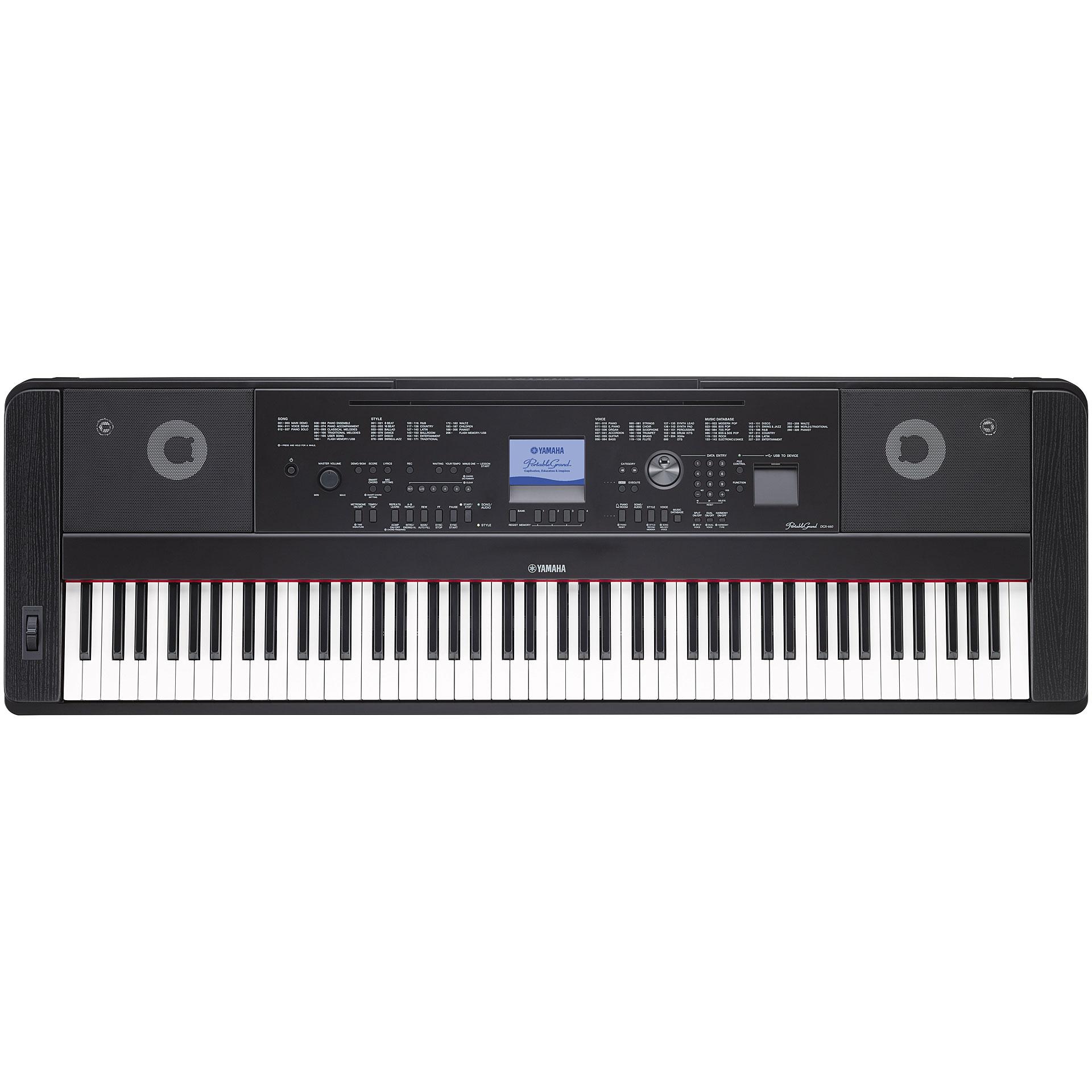 Yamaha dgx 660 b piano digital for Yamaha dgx 660 manual