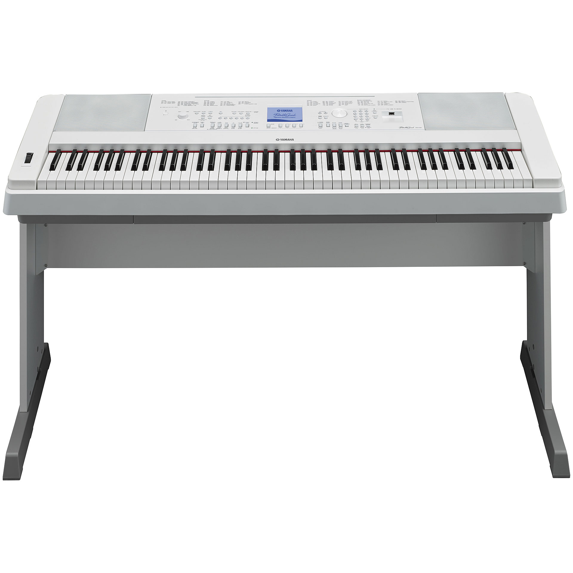yamaha dgx 660 wh digital piano. Black Bedroom Furniture Sets. Home Design Ideas
