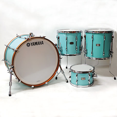 Schlagzeug Yamaha Recording Custom Surf Green Rock 2