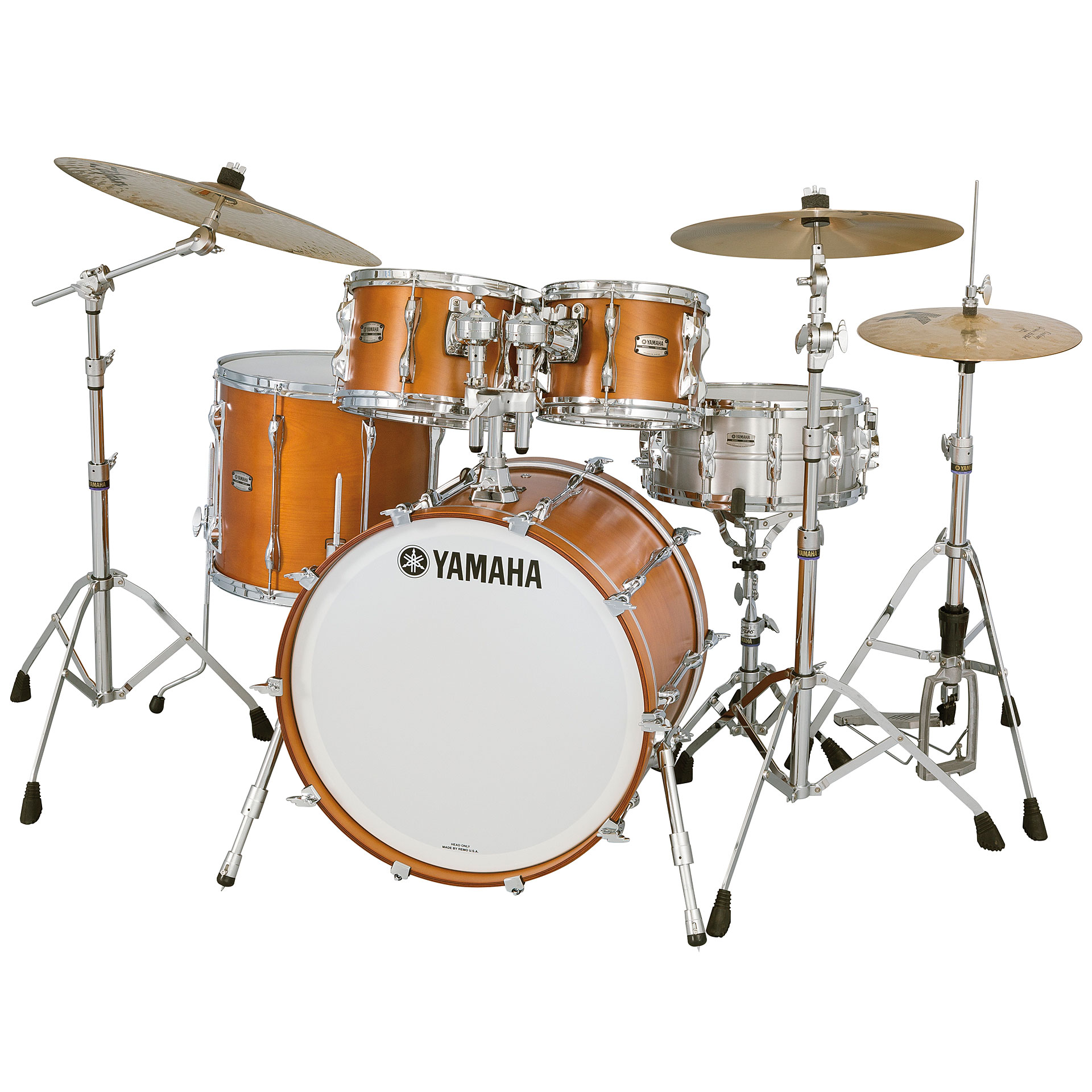 yamaha recording custom real wood jazz drum kit. Black Bedroom Furniture Sets. Home Design Ideas
