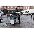 Schlagzeug Ludwig Breakbeats LC179X023 Azure Blue Sparkle