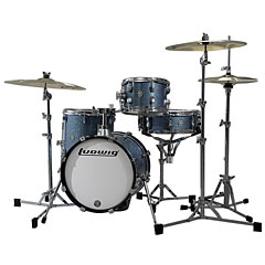 Ludwig Breakbeats LC179X023 Azure Blue Sparkle « Batterie acoustique