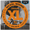 Electric Guitar Strings D'Addario EXL140-8 Nickel Wound .010-074
