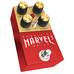 Ramble FX Marvel Drive 3 RED « Pedal guitarra eléctrica