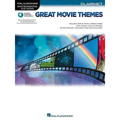 Hal Leonard Great Movie Themes for Clarinet