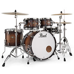 Pearl Wood Fiberglass FW924XSP/C327 Satin Cocoa Burst « Drum Kit
