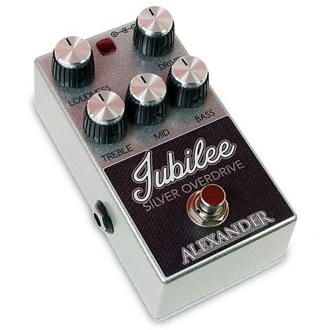 Guitar Effect Alexander Jubilee Silver Overdrive