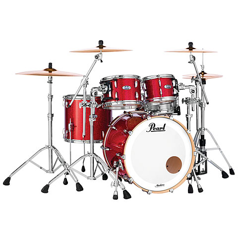 Pearl Masters Maple Complete 20  Inferno Red Sparkle