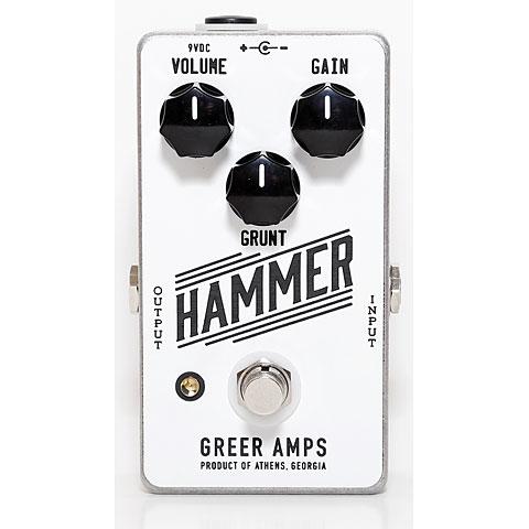 Effectpedaal Gitaar Greer Amps Hammer
