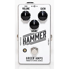 Greer Amps Hammer « Effets pour guitare électrique