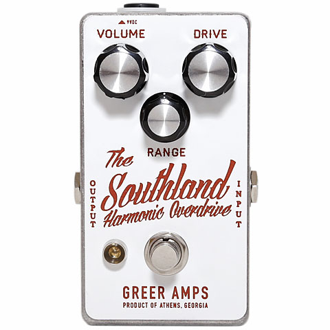 Effets pour guitare électrique Greer Amps Southland Harmonic Overdrive