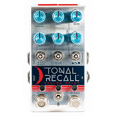 Pedal guitarra eléctrica Chase Bliss Audio Tonal Recall Blue Knob