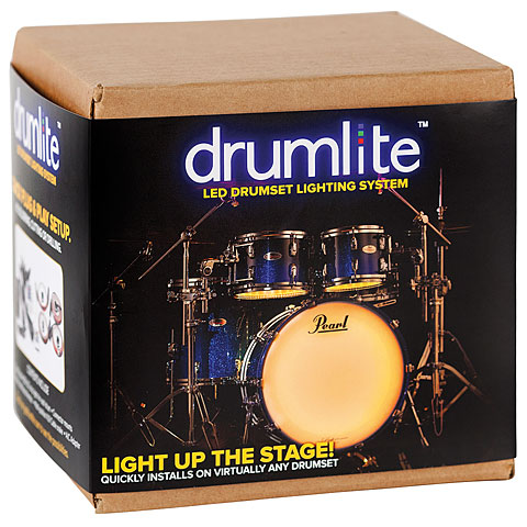 Accessoires de batterie Drumlite Full kit 20/10/12/14 single