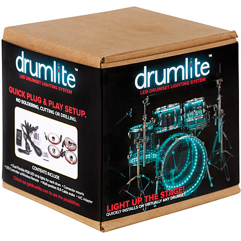 Drumlite Full kit 22/12/14/16 double