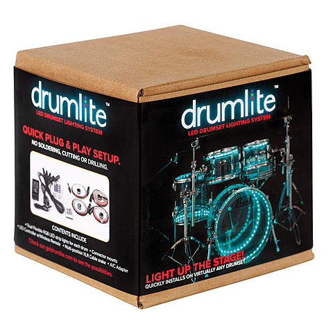 Drumlite Full kit 22/10/12/16 double