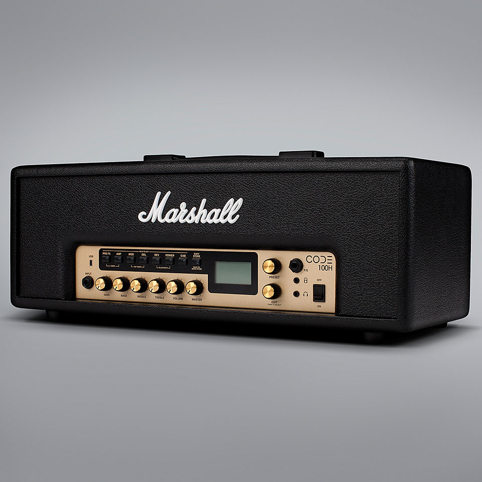 marshall code100h t te ampli guitare. Black Bedroom Furniture Sets. Home Design Ideas