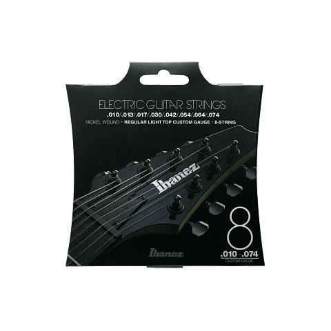 Cuerdas guitarra eléctr. Ibanez IEGS81
