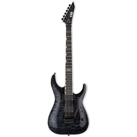 ESP LTD MH-401FR QM STBLK « Guitarra eléctrica