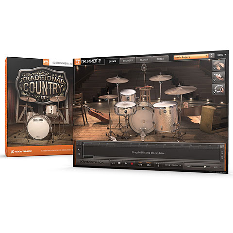 Softsynth Toontrack Traditional Country EZX