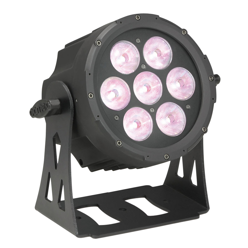 cameo flat pro 7 spot lampe led. Black Bedroom Furniture Sets. Home Design Ideas