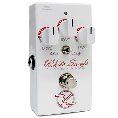 Pedal guitarra eléctrica Keeley White Sands Luxe Drive