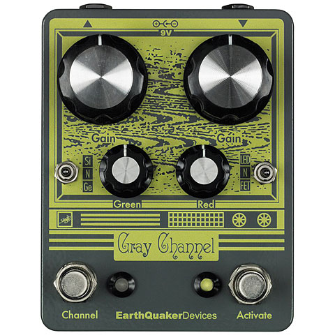 Effets pour guitare électrique EarthQuaker Devices Gray Channel
