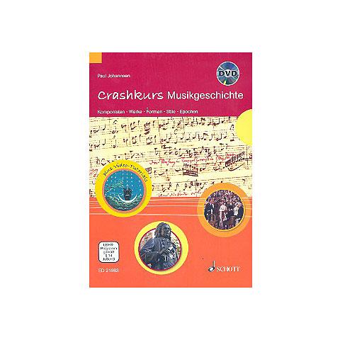 Musiktheorie Schott Crashkurs Musikgeschichte