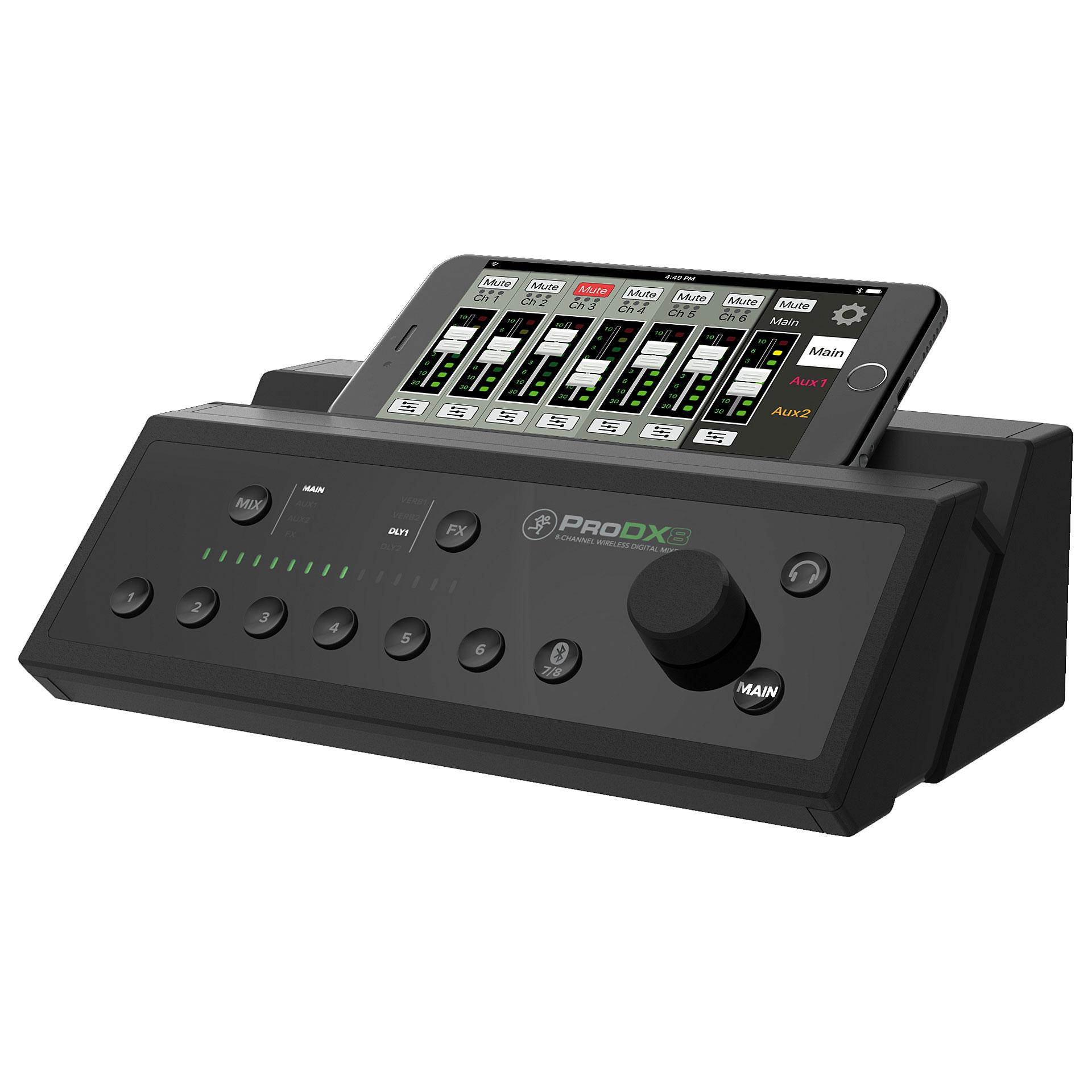 Mackie prodx8 console de mixage num rique - Console de mixage numerique ...