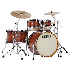 "Tama Silverstar 22"" Antique Brown Burst « Drumstel"