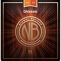 Set di corde per chitarra western e resonator D'Addario NB1047 Nickel Bronze Set
