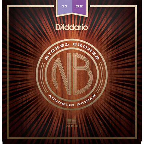D'Addario NB1152 Nickel Bronze .011-052