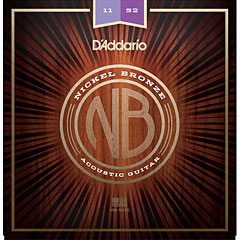 D'Addario NB1152 Nickel Bronze .011-052 « Saiten Westerngitarre
