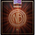 Set di corde per chitarra western e resonator D'Addario NB1152 Nickel Bronze .011-052