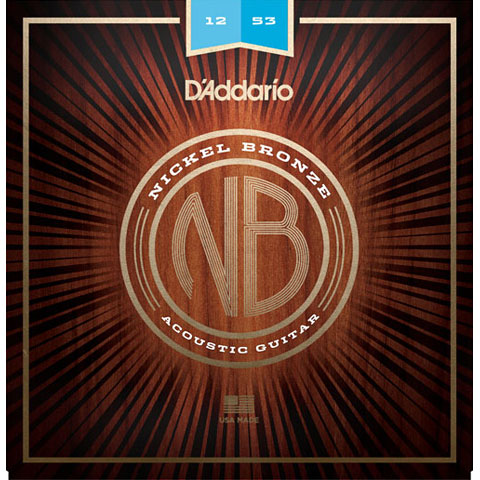 D'Addario NB1253 Nickel Bronze Set