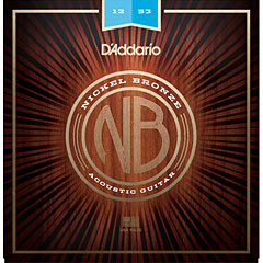 D'Addario NB1253 Nickel Bronze .012-053 « Corde guitare folk