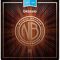 Set di corde per chitarra western e resonator D'Addario NB1253 Nickel Bronze Set