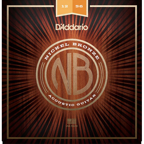 D'Addario NB1256 Nickel Bronze .012-056