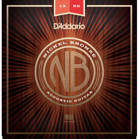 D'Addario NB1356 Nickel Bronze .013-056