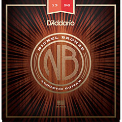 D'Addario NB1356 Nickel Bronze .013-056 « Corde guitare folk
