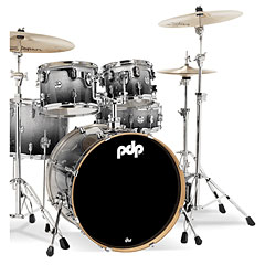 pdp Concept Maple CM5 Silver to Black Sparkle Fade « Batería