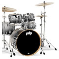 pdp Concept Maple CM5 Silver to Black Sparkle Fade « Trumset