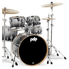 "pdp Concept Maple CM5 20"" Silver to Black Sparkle Fade « Batterie acoustique"