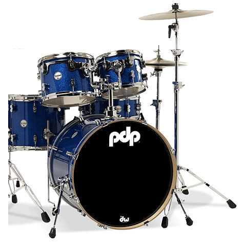 "pdp Concept Maple CM5 20"" Blue Sparkle"