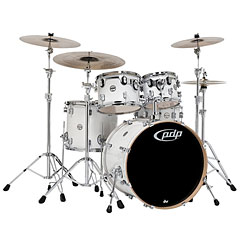 "pdp Concept Maple CM5 20"" Pearlescent White « Drum Kit"