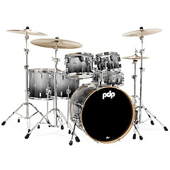 pdp Concept Maple CM6 Silver to Black Sparkle Fade « Batterie acoustique