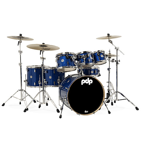 Schlagzeug pdp Concept Maple CM7 Blue Sparkle