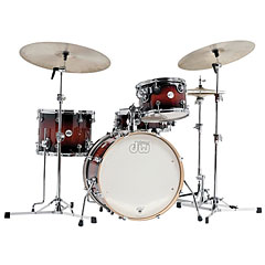 DW Design Frequent Flyer Tobacco Burst « Drum Kit