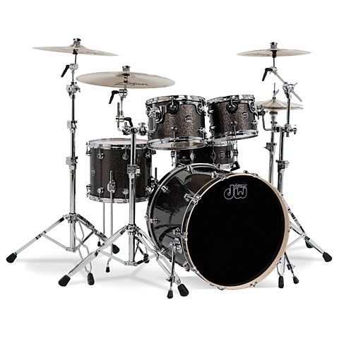 "Batería DW Performance 22"" Pewter Sparkle"
